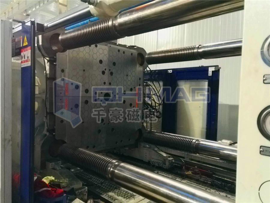 1400T双色机快速换模系统磁力模板|千豪磁电
