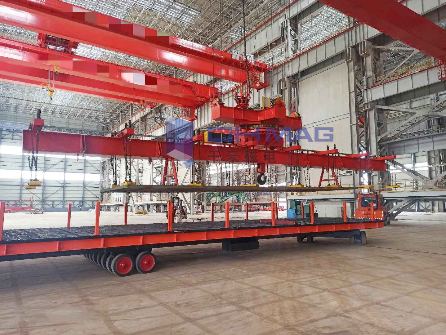 磁力吊具,吊运板坯用起重电永磁铁