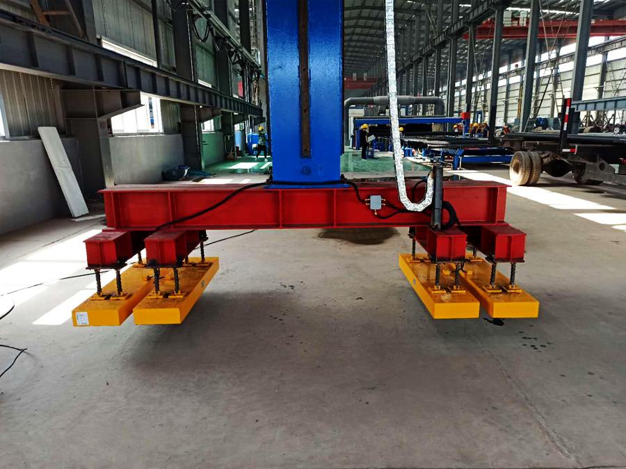 钢管磁力吊具,吊多根钢管用电永磁起重器