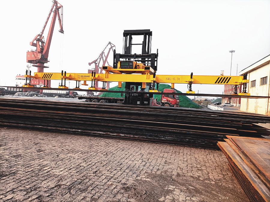 港口钢板起吊用磁力吊具