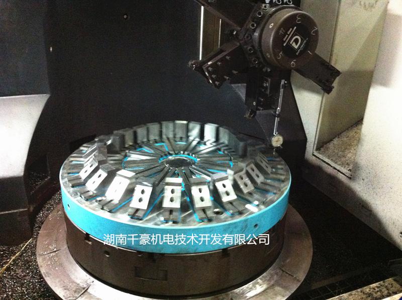 圆形电永磁吸盘加工应用