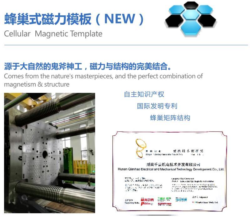 蜂巢式磁力模板