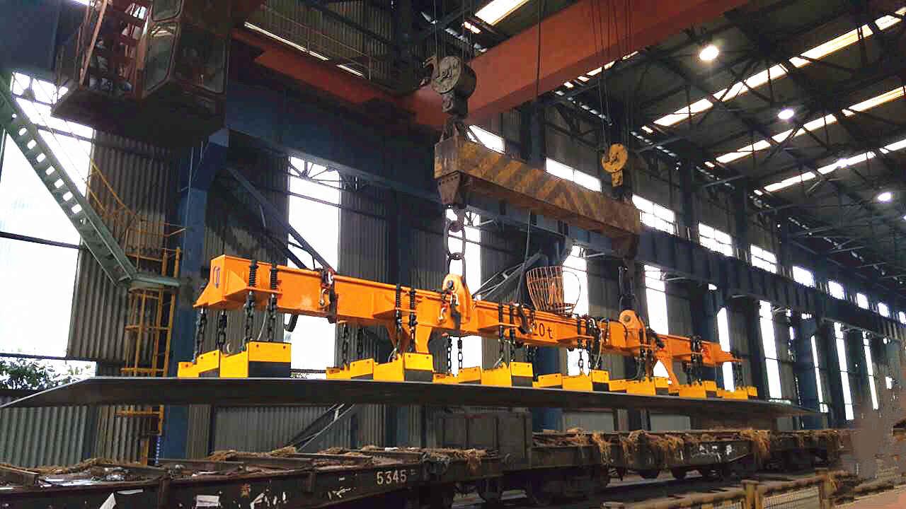 千豪电永磁起重器,钢板钢坯起重吊具