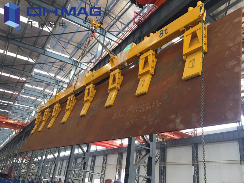 千豪磁电竖吊侧吊钢板起重电永磁