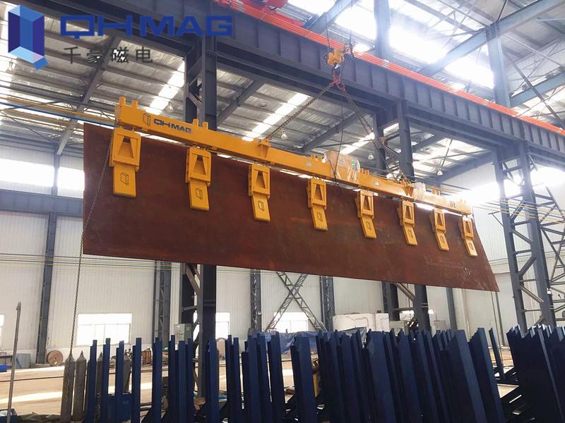 侧吊竖吊钢板电永磁吊具