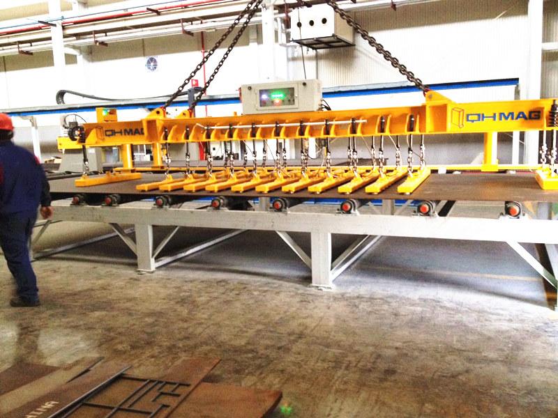 切割线上下料电永磁吊具,钢板吊具