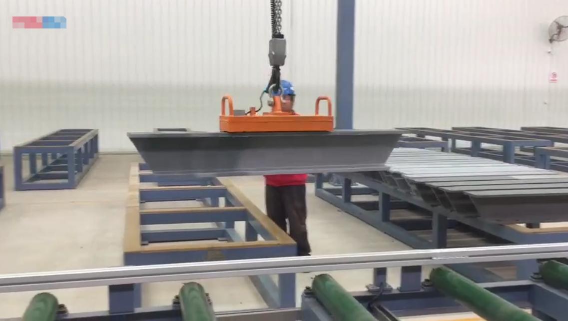 千豪起重吊具之型钢电永磁吊具