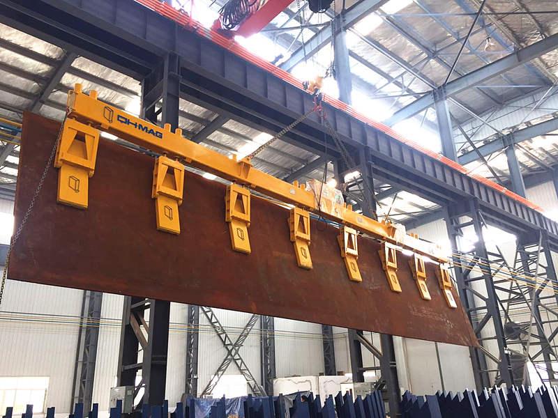 侧吊钢板起重电磁铁,千豪品牌