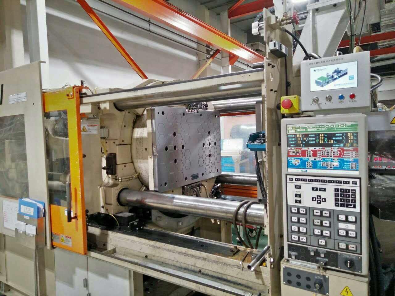 双色注塑机快速换模系统,千豪磁力模板